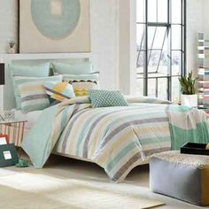 Bed bath beyond- the winner for the new guest room design.