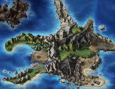 Dirnado Map from Final Fantasy: Brave Exvius