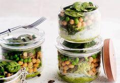 Vegetable-noodle salad, Finnish Food, July 2016