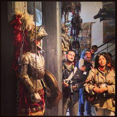 #invasionidigitali #siciliainvasa2014 #igerspalermo @Elisa Bonacini @invasionidigita @elisa tese' #museopasqualino #museomarionette