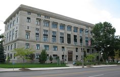 Genesee County Courthouse, and Jail in Michigan by sarrazak6881, via Flickr