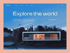 Web Design Mobile, Web Ui Design, Best Web Design, Web Design Awards, Design Design, Graphic Design, Website Design Layout, Web Layout, Website Designs
