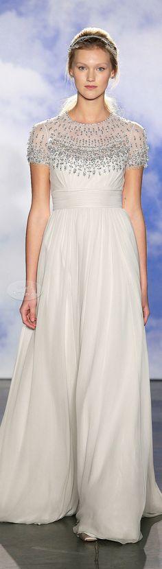 Jenny Packham Bridal Spring 2015.