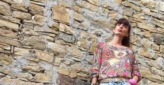 paisley blouse and jeans  #jeans #paisley #denim #jeans #fashion #outfit #cool #streetstyle #glam #accessories #summer