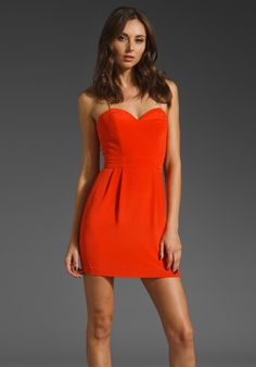 #Naven Heartthrob #Dress in #Orange Crush