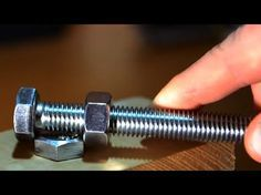 10 Smart Life Hacks You Probably Don't Know   use a screw and a nut to make a DIY wrench.