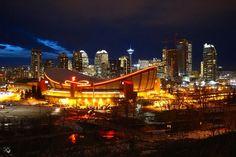 Scotiabank Saddledome, Calgary, Alberta - After exploring Calgary...