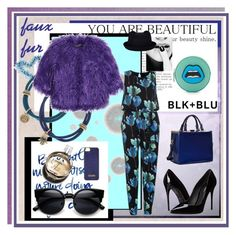 """purple"" by jennross76 on Polyvore featuring Komar, Lucky Brand, Shrimps, Dorothy Perkins, Dolce&Gabbana, Dasein, Yazbukey, Hermès, Topshop and women's clothing"