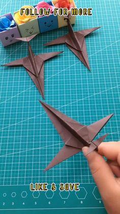 Paper Towel Crafts, Cool Paper Crafts, Paper Mache Crafts, Fun Crafts, Instruções Origami, Paper Crafts Origami, Origami Design, Diy Crafts Hacks, Diy Home Crafts