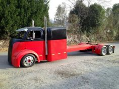 COE. Thinking of doing one that has same type sleeper but with 5th wheel for hauling camper.