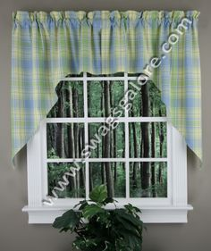 kitchen swag curtains cabinets makeover 21 best tiers swags images window discount valances toppers galore