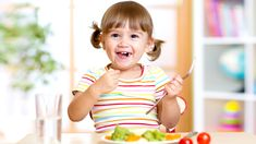 A healthy diet linked to a kid's happiness and self-esteem