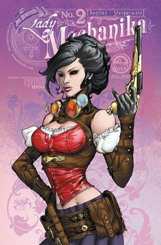 Lady Mechanika 2 Comiccentral by ~joebenitez on deviantART