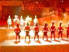 xcaret show - a must see in Cancun
