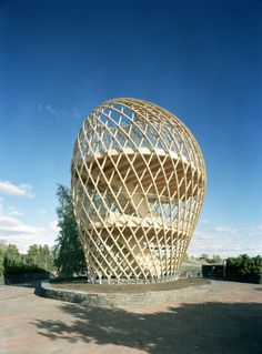 [A3N] : Kupla – Helsinki Zoo Lookout Tower / Avanto Architects , Ville Hara and Anu Puustinen .
