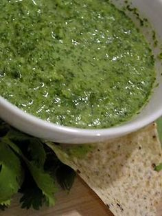 Recipe: Garlic Salsa Verde
