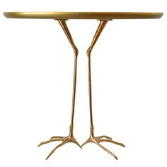 Meret Oppenheim Traccia Table | From a unique collection of antique and modern side tables at http://www.1stdibs.com/furniture/tables/side-tables/