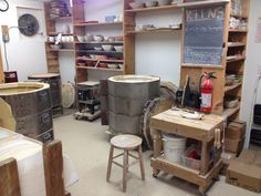 ceramic studio at home - Google Search