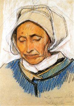 Mathurin Méheut, la Mère Alain (Lescoff)
