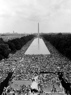 August 28, 1963: The March on Washington for Jobs and Freedom begins.