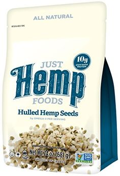 Just Hemp Foods, Hulled Hemp Seeds, 24 oz. >>> Special offer just for you. Hemp Protein, Plant Protein, Protein Foods, Gourmet Recipes, Baking Recipes, Keto Recipes, Healthy Recipes, Halal Snacks, Best Fat Burning Pills