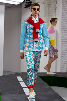 London Collections Men SS15 Kit Neale