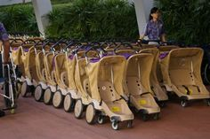 Tips for Strollers at Walt Disney World