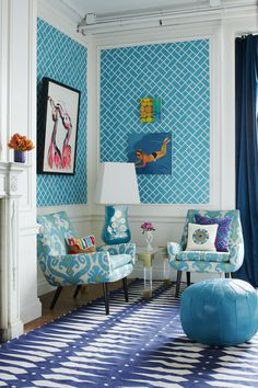 Jonathan Adler, Spring 2015 Turquoise and blue