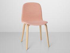 Muuto Visu Chair Wooden Base Upholstered