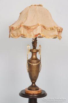 Régi szecessziós asztali lámpa