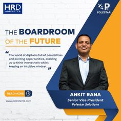 As we grapple with consequences of the deadly 𝗖𝗼𝘃𝗶𝗱-𝟭𝟵, we take a moment to explore the future of the world of work and of the boardroom. Ankit Rana - Senior Vice President of Polestar Solutions & Services pens down his thoughts about The Boardroom of the Future in a fun, engaging and exploratory piece set in the year 2035 exploring the (new) digital world of work. Watch Star Trek, Vice President, Intuition, Pens, Exploring, Mindset, Presidents, In This Moment, Thoughts