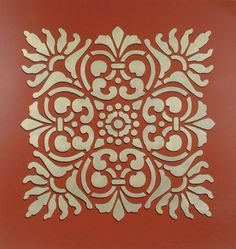 Sicilia Tile Wall & Furniture Stencil