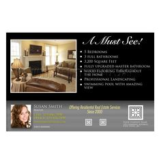 open house real estate postcards - Google Search | Real Estate ...