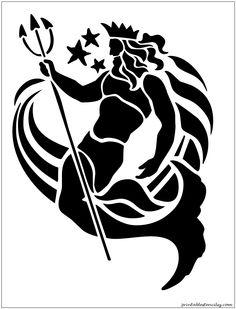 sealife Printable Stencils