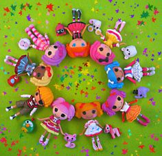 Mini Lalaloopsy dolls - I LOVE these...my girls seem to like them, too, so I have reason to buy them more :)