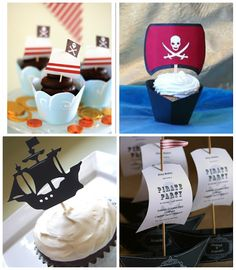 Pirate Party.  Invites, games, decorations, DIY crafts