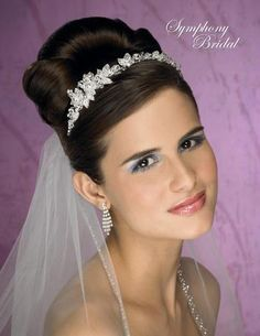 Symphony Bridal Tiaras - 4931CR
