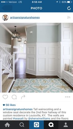1000 images about sea salt sherwin williams on pinterest for Paint colors with high lrv