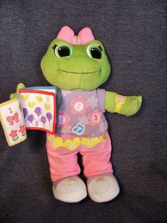 "Leapfrog Learning Friend Lily 12"" Interactive Learning Toy GUC #LeapFrog"