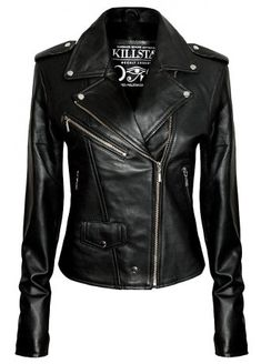 Kill Star Vegan Leather Jacket