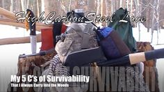 My 5 C's of Survivability That I Always Carry Into the Woods
