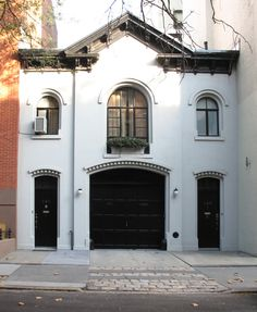 Credit: Tom Rupolo Carriage House Doors Brooklyn Heights