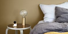 Jotun ANONYMOUS paint colour (code S 4020-Y10R) ---I think our new bedroom colour