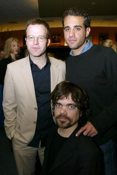 Tom McCarthy Peter Dinklage and Bobby Cannavale during Beyond Words The Writers Talk at Writers Guild Theatre in Los Angeles California United States