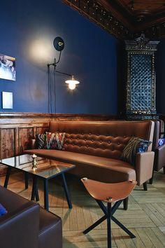 Bier Bier Bar in Helsinki - Nordic Design Bistro Interior, Restaurant Interior Design, Pub Decor, Home Decor, Architecture Restaurant, Deco Restaurant, Pub Design, Nordic Design, Chula
