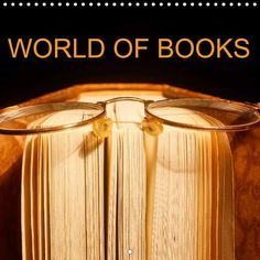 World of Books - CALVENDO calendar - http://www.calvendo.co.uk/galerie/world-of-books/ - #calendar #lovingbooks #books #calvendo