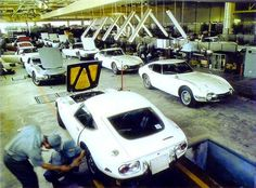 Toyota 2000 GT assembly line