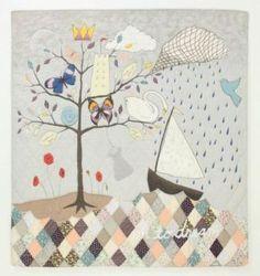 Oh to Dream (queen quilt) by Rebecca Rebouche - Anthropologie