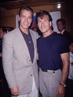 Hollywood Actor, Hollywood Celebrities, Hollywood Stars, Patrick Swayze, Arnold Schwarzenegger Bodybuilding, Action Movie Stars, Jennifer Grey, Dirty Dancing, Sylvester Stallone