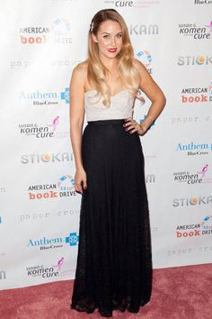 Pin for Later: See the Stars Fighting For a Breast Cancer Cure  Lauren Conrad hosted the Susan G. Komen foundation's Designs For the Cure gala in LA in October 2012.